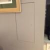 Inspektionslem med malet overflade
