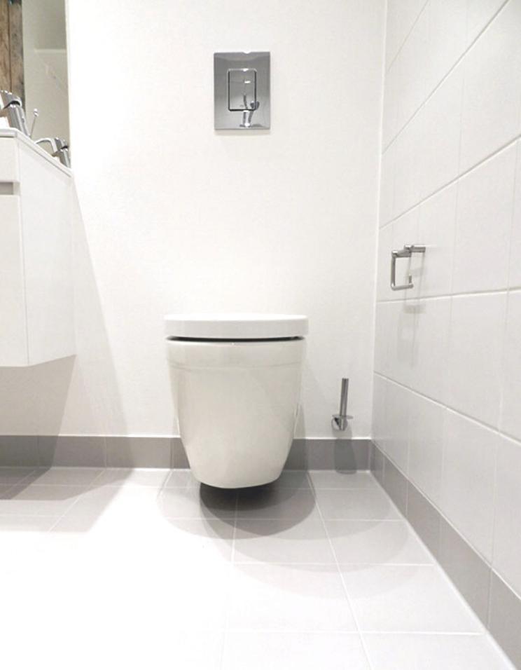 stenfiskerkaj badtilbehør og lille vaskeskab