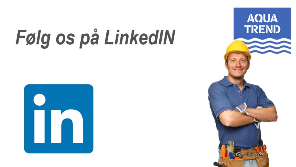Aquatrend.dk - følg os på LinkedIN